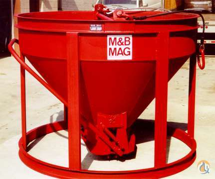 Other M  B Mag Ltd UY BB-25 Concrete Bucket 2015 Buckets Drag Clam Concrete Crane Part for Sale in Tukwila Washington on CraneNetwork.com