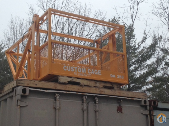 Custom Cage Fixed Manbasket Man Baskets Crane Part for Sale in Weare New Hampshire on CraneNetwork.com