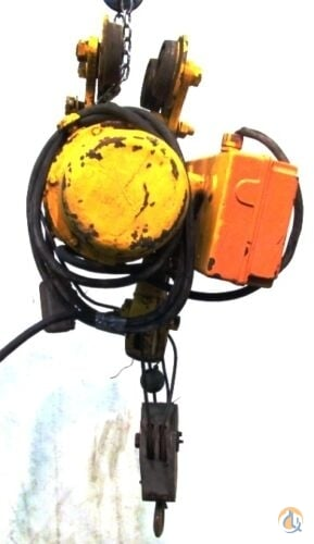 PampH PH ZIP LIFT HARNISCHFEGER CABLE HOIST TYPE AA2 500 LB WTROLLEY  PENDANT HoistsWinches Crane Part for Sale in Coffeyville Kansas on CraneNetwork.com