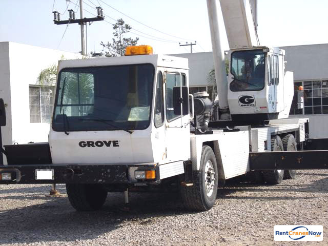 Grove TMS635BE Crane for Rent in Laredo Texas on CraneNetwork.com