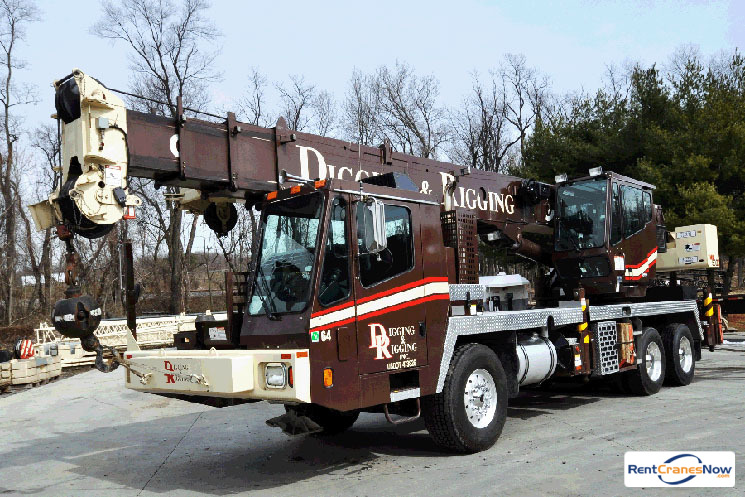 40-TON GROVE TMS500E Crane for Rent in Clarksburg Maryland on CraneNetworkcom
