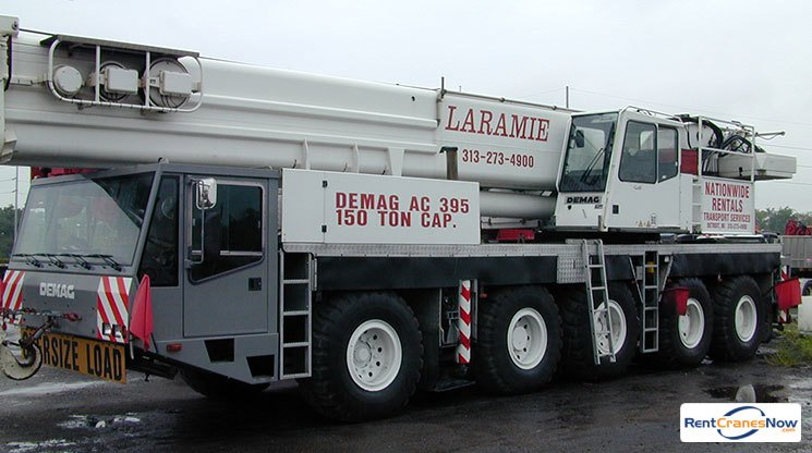 150-TON DEMAG AC 395 Crane for Rent in Wixom Michigan on CraneNetworkcom