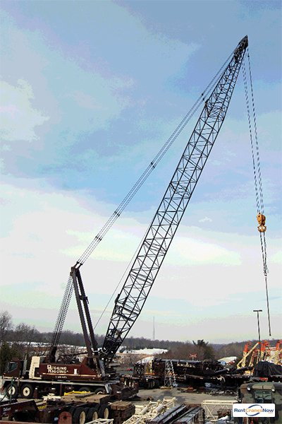 200-TON LINK-BELT HC-248 Crane for Rent in Clarksburg Maryland on CraneNetworkcom