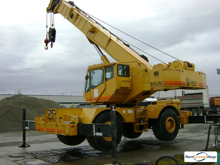 35-TON GROVE RT635C Crane for Rent in Monroe Washington on CraneNetworkcom