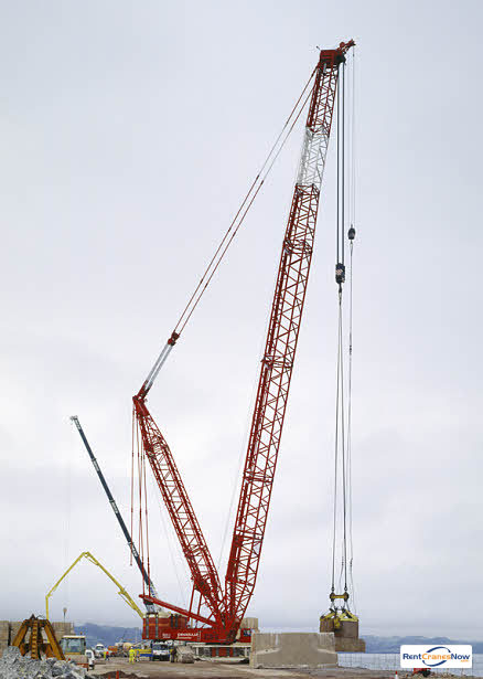 Liebherr LR 1750 Crane for Rent in Houston Texas on CraneNetwork.com