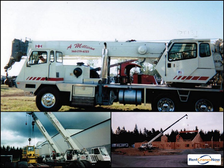 40-Ton Terex T340-1 Crane for Rent in Poulsbo Washington on CraneNetwork.com