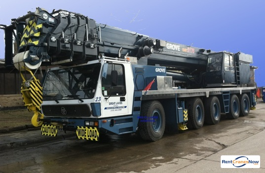Grove GMK5175 Crane for Rent in Hamtramck Michigan on CraneNetwork.com