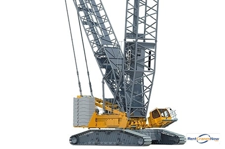 2017 Liebherr LR 1500 Crane for Rent in Antwerp Flanders on CraneNetwork.com