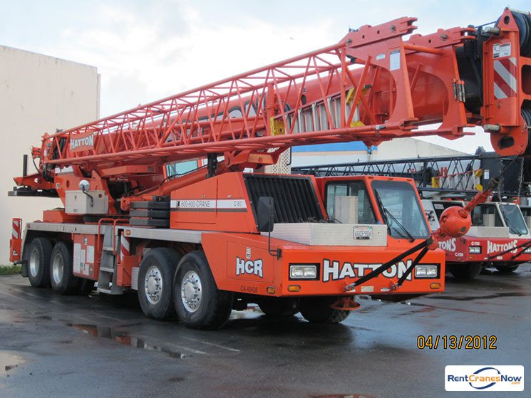 80-Ton Link-Belt HTC-8675 II Crane for Rent in Hayward California on CraneNetworkcom