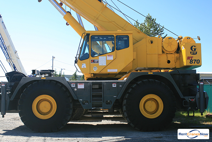 70-TON GROVE RT870 Crane for Rent in Monroe Washington on CraneNetwork.com
