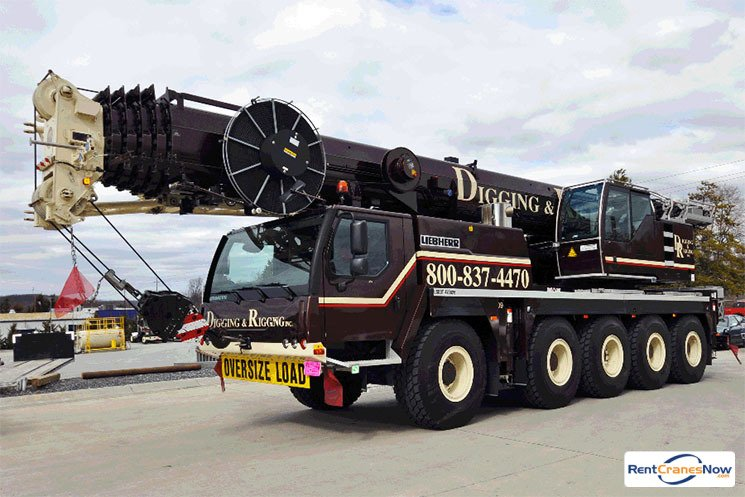 120-TON LIEBHERR LTM 1095-5.1 Crane for Rent in Clarksburg Maryland on CraneNetwork.com