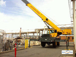 2011 GROVE RT540E Crane for Rent in Houston Texas on CraneNetworkcom