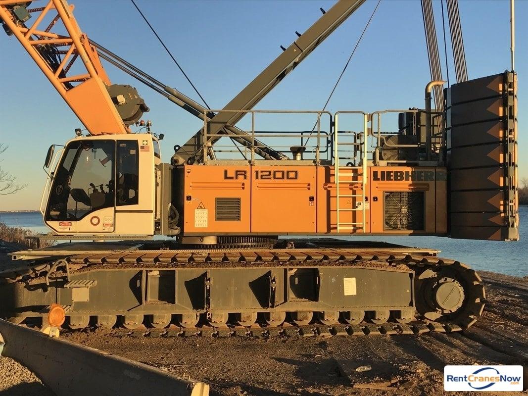 RentCranesNow.com :: Find Thousands of Crane Rental Companies Near YouCrane  details for Liebherr LR1200 in United States