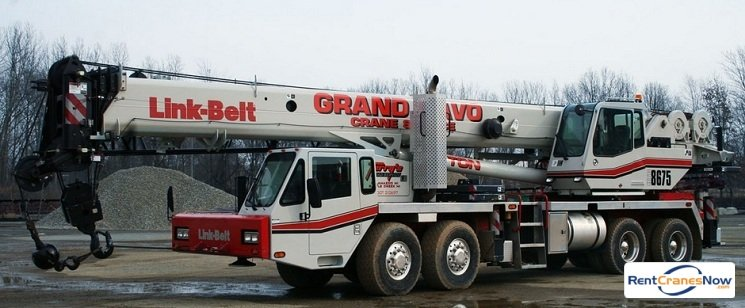 Link-Belt HTC-8675 Crane for Rent in Kalamazoo Michigan on CraneNetworkcom
