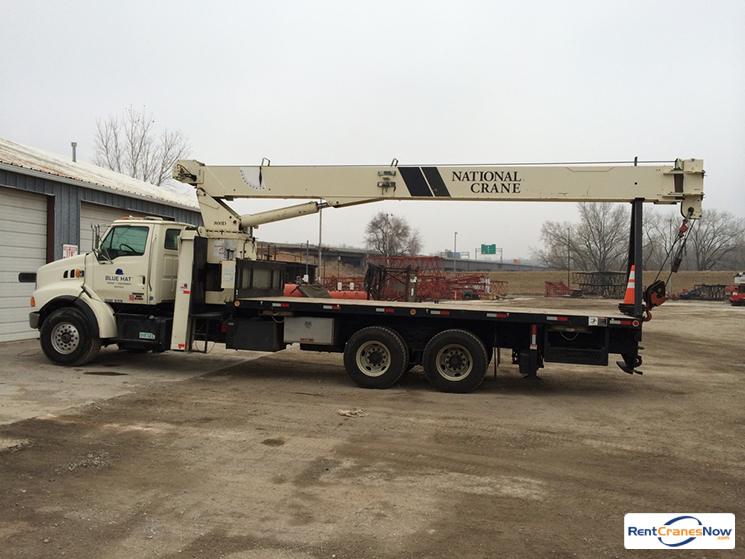 23-TON NATIONAL 800D Crane for Rent in Kansas City Kansas on CraneNetworkcom