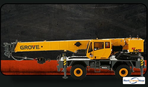 40-Ton Grove RT540E Crane for Rent in Kalamazoo Michigan on CraneNetwork.com