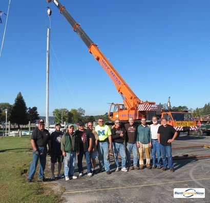 Crane for Rent in Escanaba Michigan on CraneNetworkcom