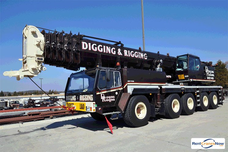 200-TON LIEBHERR LTM 1160-2 Crane for Rent in Clarksburg Maryland on CraneNetwork.com