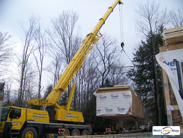 165-Ton Demag AC 120 Crane for Rent in Moosic Pennsylvania on CraneNetwork.com