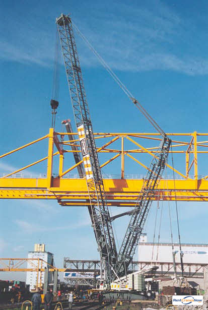 Liebherr LR 1400-2 Crane for Rent in Baton Rouge Louisiana on CraneNetworkcom