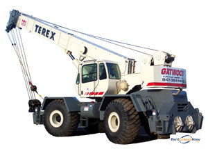 Terex RT665 Crane for Rent in Arlington Heights Illinois on CraneNetwork.com