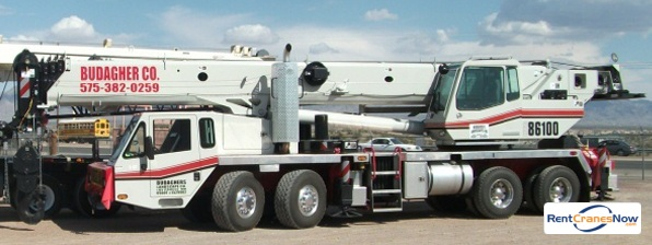 Link-Belt HTC-86100 Crane for Rent in Las Cruces New Mexico on CraneNetwork.com