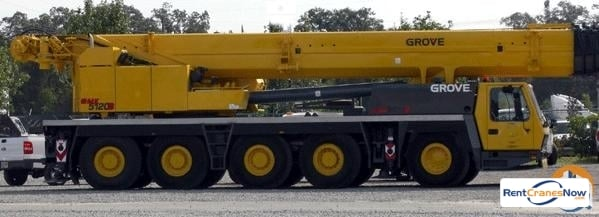 Grove GMK5120B Crane for Rent in Rutherfordton North Carolina on CraneNetworkcom