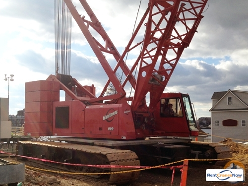 Manitowoc 999 Crane for Rent in Graham North Carolina on CraneNetwork.com