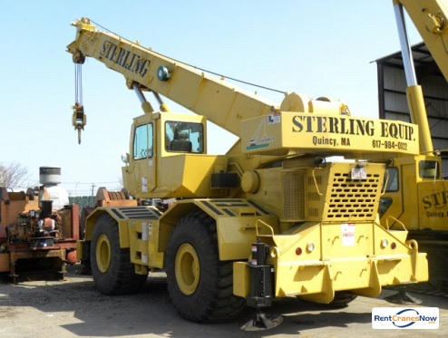 Grove RT745 Crane for Rent in Quincy Massachusetts on CraneNetwork.com