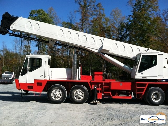Link-Belt HTC-840 Crane for Rent in Newton Iowa on CraneNetworkcom