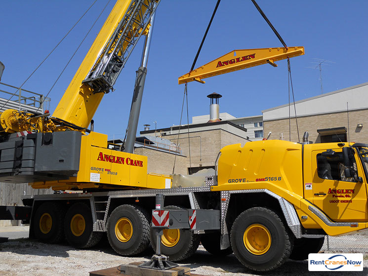 165-TON GROVE GMK5165 Crane for Rent in Pocola Oklahoma on CraneNetwork.com