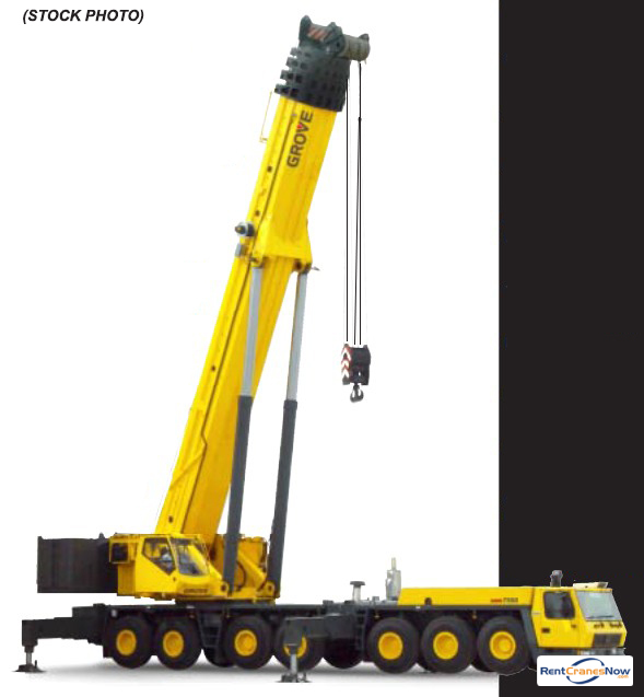 GMK-7550 550 Ton TC Crane for Rent in Clearwater Florida on CraneNetwork.com