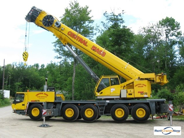275-Ton Grove GMK5275 Crane for Rent in Leicester Massachusetts on CraneNetwork.com