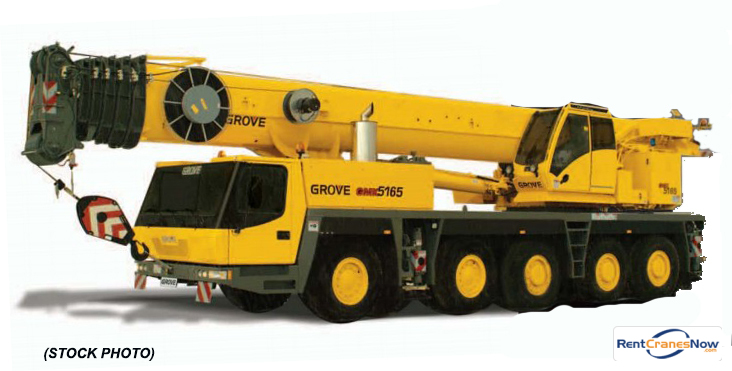 GMK-5165 165 Ton TC Crane for Rent in Clearwater Florida on CraneNetworkcom