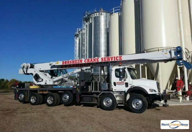 50-TON MANITEX 50128 Crane for Rent in West Fargo North Dakota on CraneNetwork.com