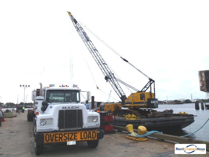 American 4260 Crane for Rent in Portsmouth Virginia on CraneNetwork.com