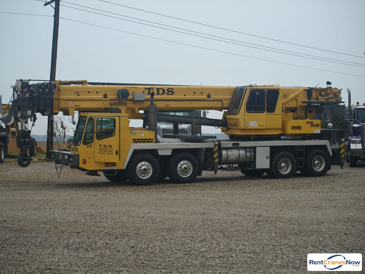 Grove TMS900E Crane for Rent in Ashdown Arkansas on CraneNetwork.com