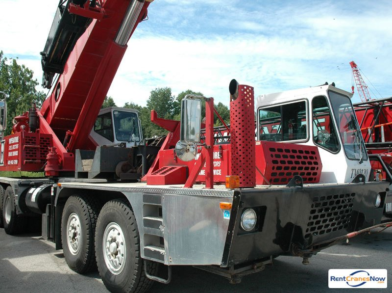 Grove TM9120 Crane for Rent in Johnston Rhode Island on CraneNetwork.com