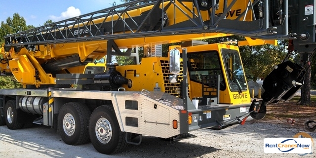 Grove TMS700E Crane for Rent in Piqua Ohio on CraneNetwork.com