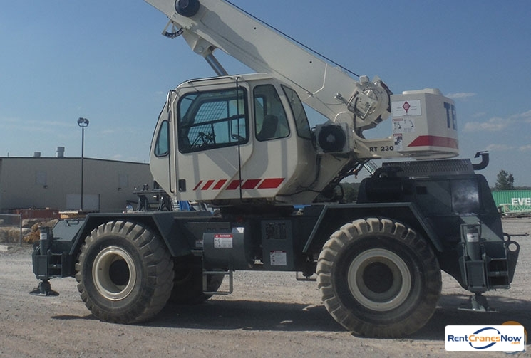 Terex RT230 Crane for Rent in Waterford Township Michigan on CraneNetworkcom
