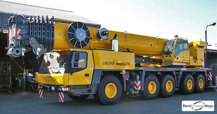 275-Ton Grove GMK5275 Crane for Rent in East Hartford Connecticut on CraneNetworkcom