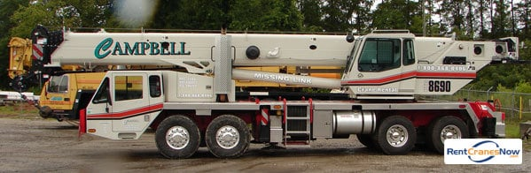 Link-Belt Crane for Rent in Greenville South Carolina on CraneNetworkcom