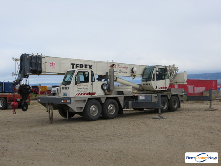 60-TON TEREX T560 Crane for Rent in Bar Nunn Wyoming on CraneNetwork.com