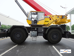 2013 SANY MODEL SRC885 ROUGH TERRAIN CRANE Crane for Rent in Portland Oregon on CraneNetwork.com