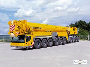 Liebherr LTM 1750-9.1 Crane for Rent in Oklahoma City Oklahoma on CraneNetwork.com