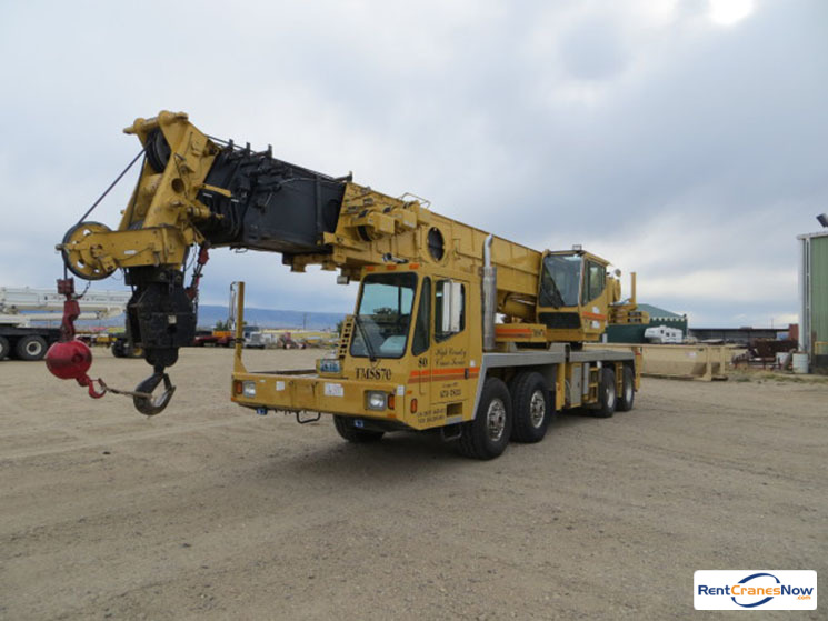 70-TON GROVE TMS870 Crane for Rent in Bar Nunn Wyoming on CraneNetwork.com