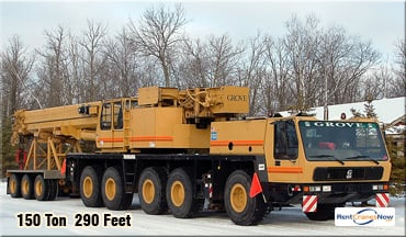 Grove GMK5150B Crane for Rent in Bemidji Minnesota on CraneNetworkcom