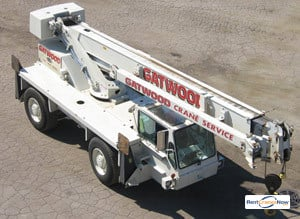 Terex CD115 Crane for Rent in Arlington Heights Illinois on CraneNetworkcom