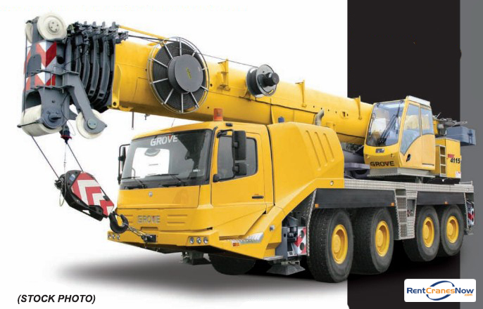 GMK-4115 115 Ton TC Crane for Rent in Clearwater Florida on CraneNetwork.com