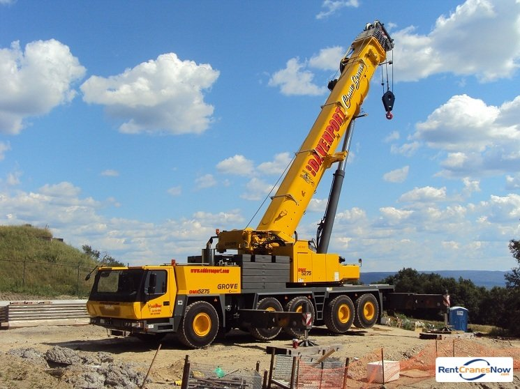Grove GMK5275 Crane for Rent in Greenfield Massachusetts on CraneNetwork.com
